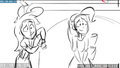 EG3 animatic - Rainbow and Rarity listen to Sunset.png