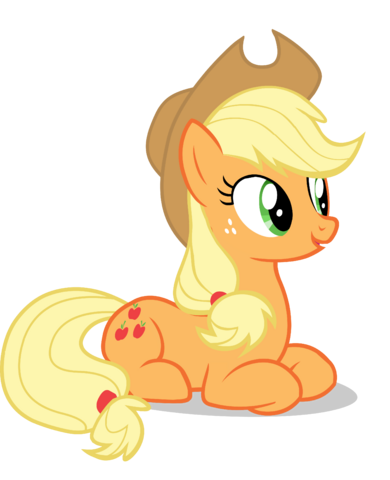 File:FANMADE Applejack laying down vector.png