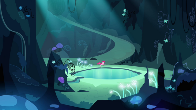 File:Pinkie Pie sees the Mirror Pool S3E03.png