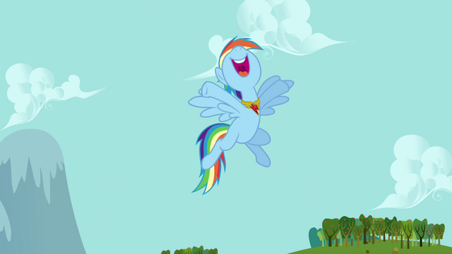 "File:Rainbow Dash ""you go, Fluttershy!"" S03E10.png"