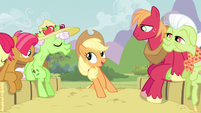 Applejack which is why S3E8