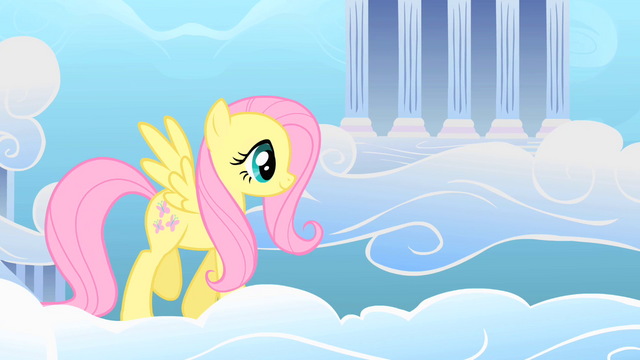 File:Fluttershy in Cloudsdale S1E16.png
