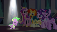 "Spike singing ""the darkness turn to light"" S6E16"