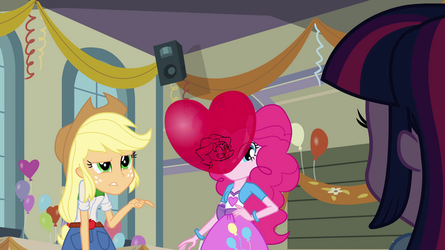 File:Applejack trusts Rainbow Dash even less than Sunset EG.png