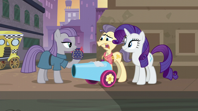 File:Pouch Pony scared of Maud S6E3.png