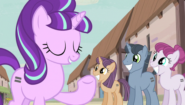 """File:Starlight """"we have no judgements here"""" S5E1.png"""