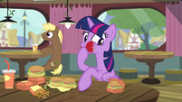 "Twilight Sparkle ""I didn't realize how hungry"" S4E15"