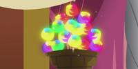 Flammenloses Feuerwerk