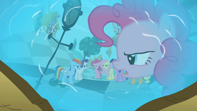 File:Pinkie Pie in reflection 'Fine!' S2E01.png
