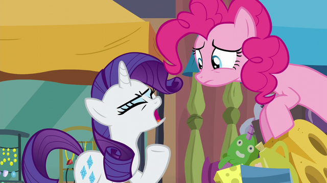 """File:Rarity """"nothing she needs or wants!"""" S6E3.png"""