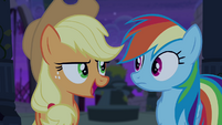 """Applejack """"when I was just a filly"""" S4E03"""