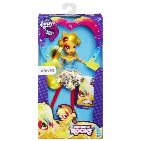 File:Applejack Equestria Girls Rainbow Rocks doll packaging.jpg