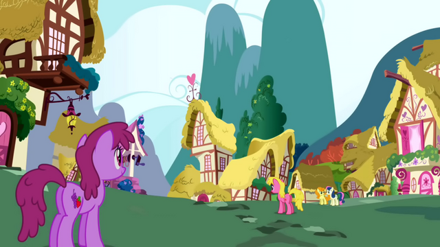 File:Berryshine along with other ponies walking around Ponyville S1E01.png