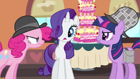 Rarity mane shot S2E24