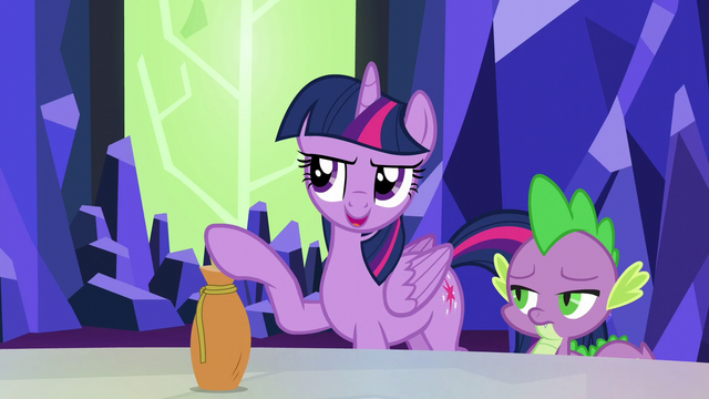 "File:Twilight ""the only reason you won't drink the potion"" S5E22.png"