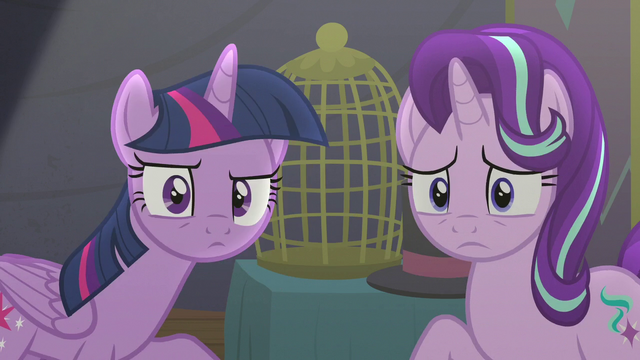 File:Twilight and Starlight look at Trixie S6E6.png