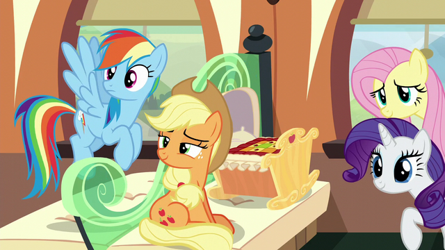 "File:Applejack ""practically family"" S6E1.png"