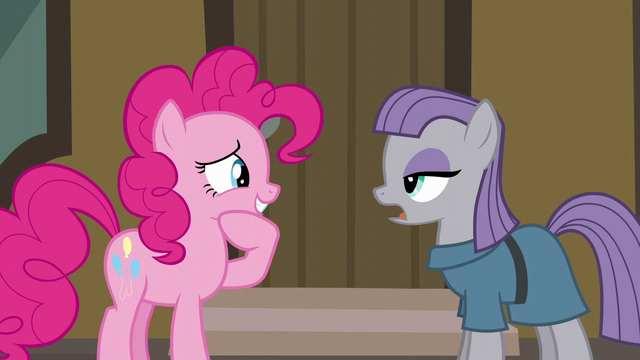 File:Pinkie Pie moved by Maud's words S6E3.png