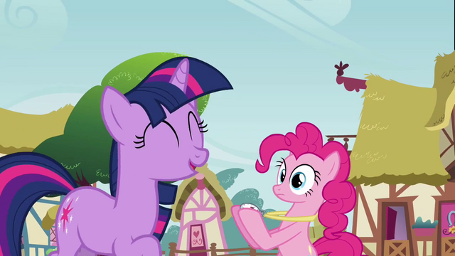 File:Twilight laughing at Pinkie S3E3.png