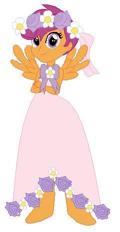 File:FANMADE Scootaloo Human Flower Girl.jpg