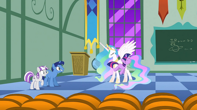 File:Filly Twilight hopping around Celestia S1E23.png