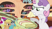"Sweetie Belle commands broom to ""rise!"" S4E15"
