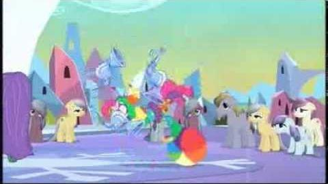 Tiny Pop (UK) - My Little Pony Starts Saturday at 3pm and 7 30pm Promo - 2013