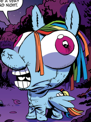 File:Comic issue 3 Rainbow self costume.png