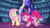 "Pinkie Pie ""dressed up in a costume"" S5E21"