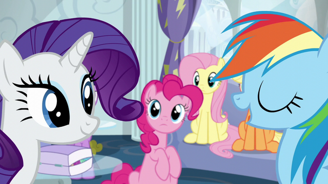 "File:Rainbow ""report to Wonderbolts headquarters"" S6E7.png"
