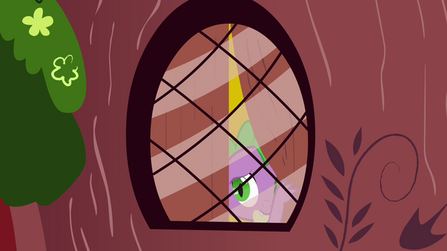 File:Spike looking out from the window S3E05.png