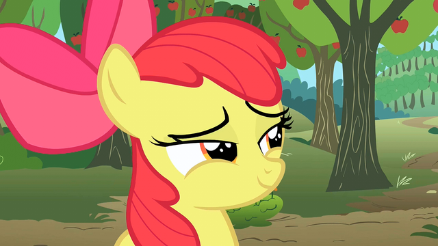 "File:Apple Bloom ""come back tomorrow"" S2E15.png"
