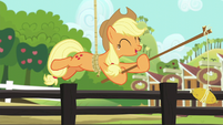 """Applejack """"one time I left it there by mistake"""" S6E10"""