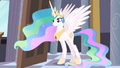 Celestia at the door S4E01.png