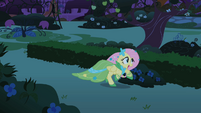 Fluttershy galloping S01E26