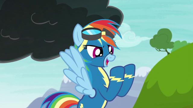 "File:Rainbow Dash ""shoot off a lightning bolt"" S6E7.png"