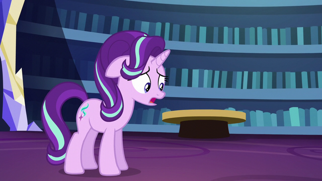 "File:Starlight Glimmer nervous ""yeah..."" S6E1.png"