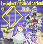 Le sigle originali dei cartoni di Italia Uno album cover