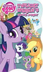MLP Twilight Sparkle's Magical Journey storybook cover