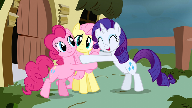 File:Rarity Pinkie Fluttershy hug S2E19.png