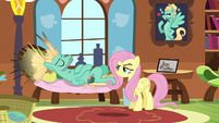 Zephyr Breeze lying on the couch S6E11