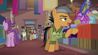 """Quibble Pants """"that's a great character"""" S6E13"""