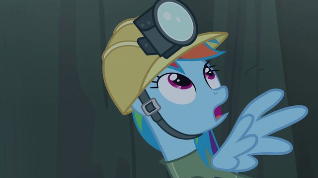 File:Rainbow looks up to see Gilda S5E8.png