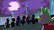 "Spike ""holy new personas, ponies!"" S4E06"