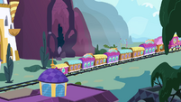 Train heading to Ponyville S4E01