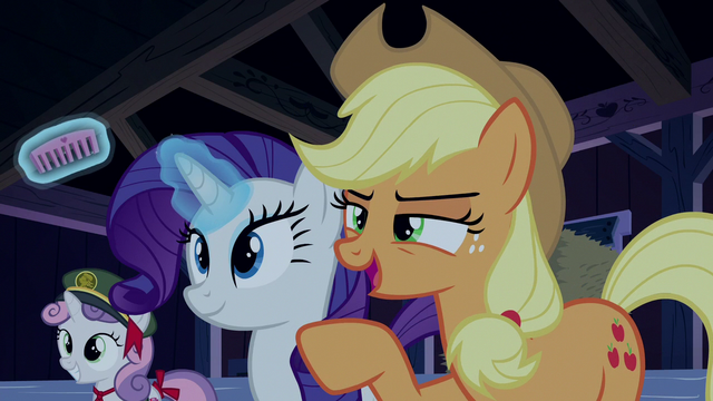 "File:Applejack ""some of your own medicine"" S6E15.png"