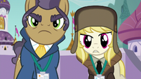 Manehattan and Whinnyapolis delegates wait for an answer S5E10