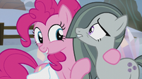 Pinkie Pie introduces Marble Pie S5E20