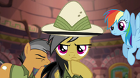 """Quibble fake-coughing """"not that one"""" S6E13"""