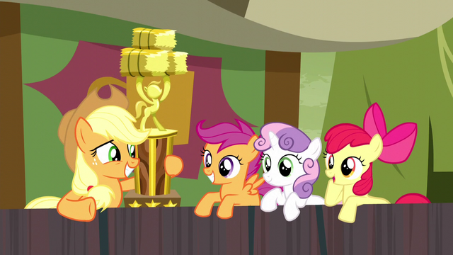 "File:Apple Bloom uninterested ""way to go"" S5E6.png"